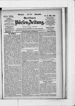 Berliner Börsen-Zeitung vom 13.03.1900