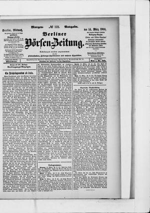 Berliner Börsen-Zeitung vom 14.03.1900