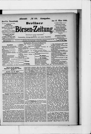 Berliner Börsen-Zeitung vom 17.03.1900