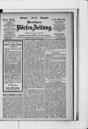 Berliner Börsen-Zeitung vom 25.03.1900