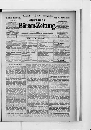 Berliner Börsen-Zeitung vom 28.03.1900
