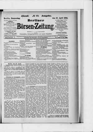 Berliner Börsen-Zeitung vom 12.04.1900