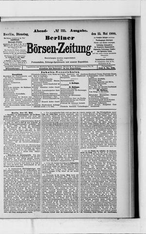 Berliner Börsen-Zeitung vom 15.05.1900