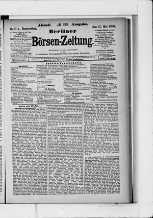 Berliner Börsen-Zeitung vom 17.05.1900