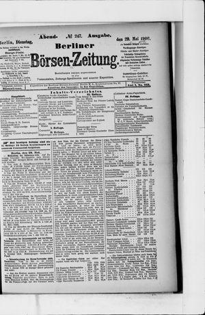 Berliner Börsen-Zeitung vom 29.05.1900