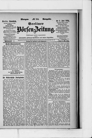 Berliner Börsen-Zeitung vom 02.06.1900