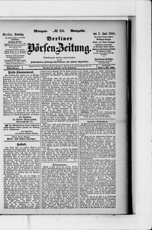 Berliner Börsen-Zeitung vom 03.06.1900