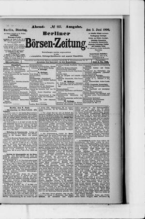 Berliner Börsen-Zeitung vom 05.06.1900