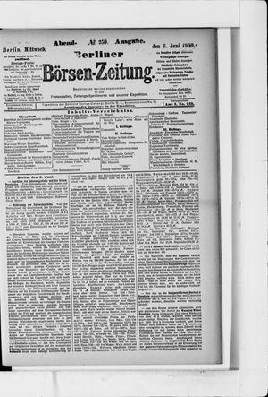 Berliner Börsen-Zeitung vom 06.06.1900