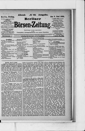 Berliner Börsen-Zeitung vom 08.06.1900