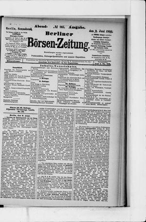 Berliner Börsen-Zeitung vom 09.06.1900