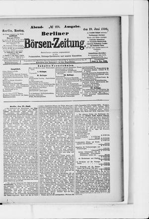 Berliner Börsen-Zeitung vom 18.06.1900