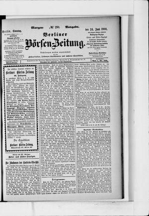 Berliner Börsen-Zeitung vom 24.06.1900