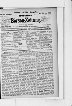 Berliner Börsen-Zeitung vom 26.06.1900