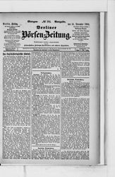 Berliner Börsen-Zeitung (14.12.1900)