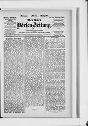 Berliner Börsen-Zeitung (14.12.1901)