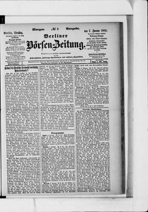 Berliner Börsen-Zeitung vom 07.01.1902