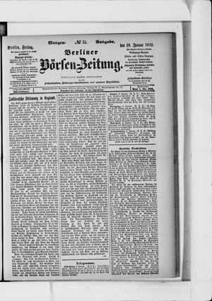 Berliner Börsen-Zeitung vom 10.01.1902