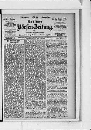 Berliner Börsen-Zeitung vom 21.01.1902
