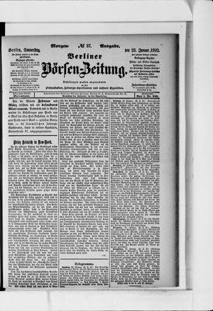 Berliner Börsen-Zeitung vom 23.01.1902