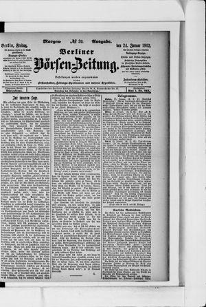 Berliner Börsen-Zeitung vom 24.01.1902