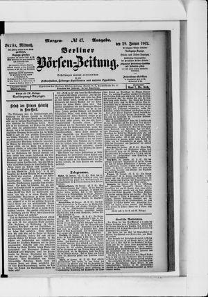 Berliner Börsen-Zeitung vom 29.01.1902