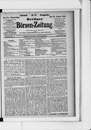 Berliner Börsen-Zeitung vom 30.01.1902
