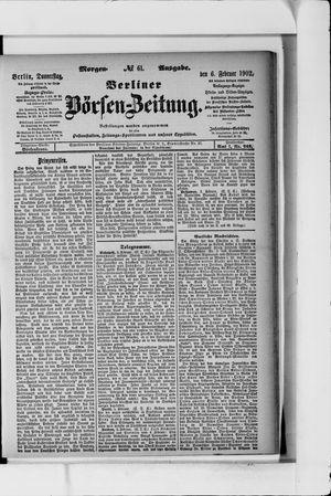 Berliner Börsen-Zeitung vom 06.02.1902
