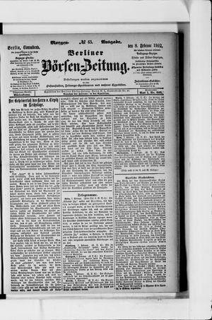 Berliner Börsen-Zeitung vom 08.02.1902