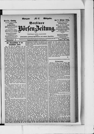 Berliner Börsen-Zeitung vom 09.02.1902