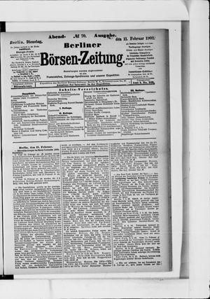 Berliner Börsen-Zeitung vom 11.02.1902