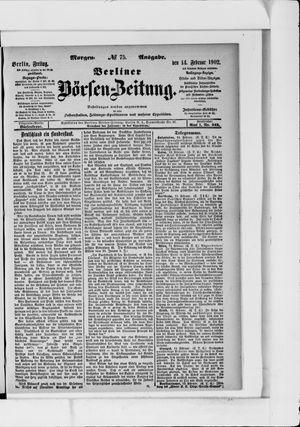 Berliner Börsen-Zeitung vom 14.02.1902