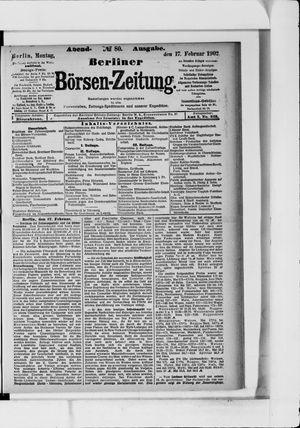 Berliner Börsen-Zeitung vom 17.02.1902
