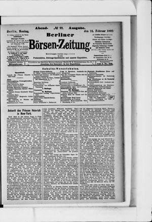 Berliner Börsen-Zeitung vom 24.02.1902