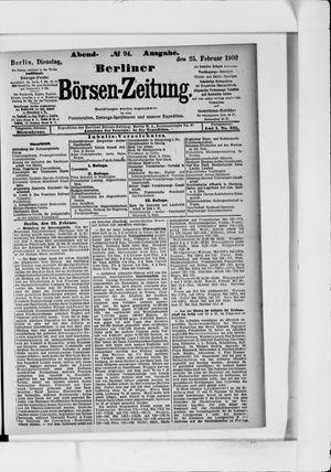 Berliner Börsen-Zeitung vom 25.02.1902