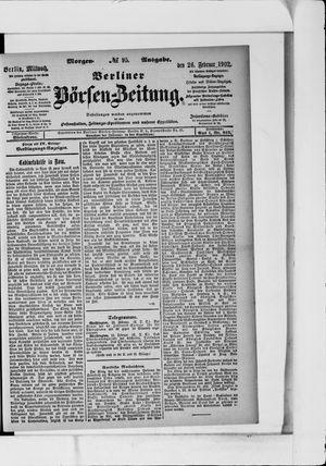 Berliner Börsen-Zeitung vom 26.02.1902