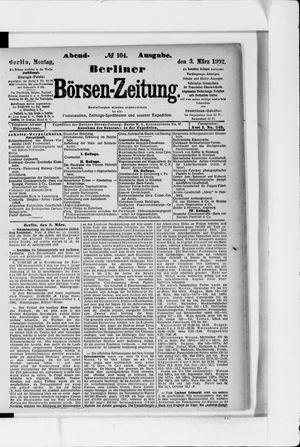 Berliner Börsen-Zeitung vom 03.03.1902
