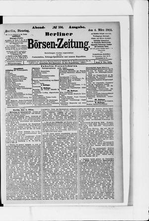 Berliner Börsen-Zeitung vom 04.03.1902