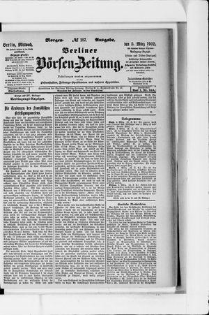 Berliner Börsen-Zeitung vom 05.03.1902