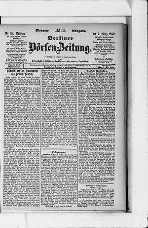 Berliner Börsen-Zeitung vom 09.03.1902