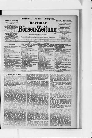 Berliner Börsen-Zeitung vom 10.03.1902