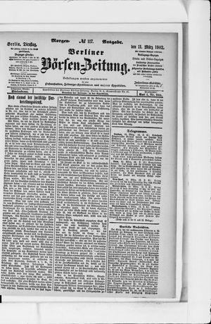 Berliner Börsen-Zeitung vom 11.03.1902