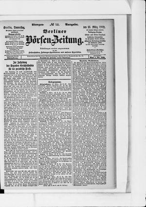 Berliner Börsen-Zeitung vom 13.03.1902