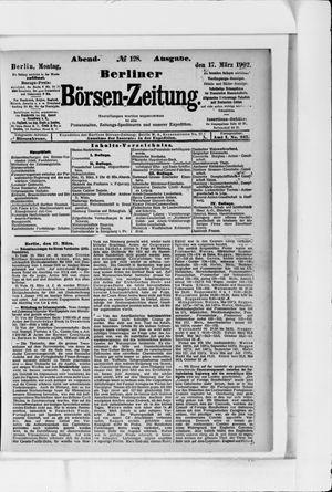 Berliner Börsen-Zeitung vom 17.03.1902