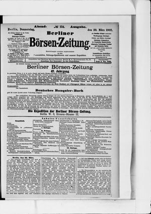 Berliner Börsen-Zeitung vom 20.03.1902