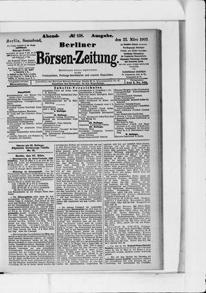 Berliner Börsen-Zeitung vom 22.03.1902