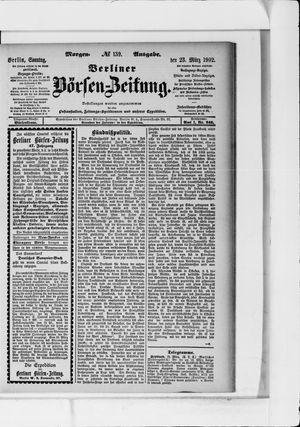 Berliner Börsen-Zeitung vom 23.03.1902