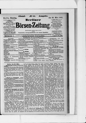 Berliner Börsen-Zeitung vom 25.03.1902