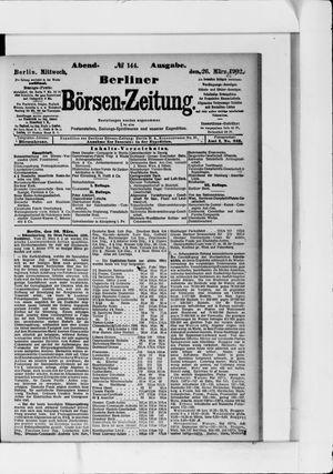 Berliner Börsen-Zeitung vom 26.03.1902