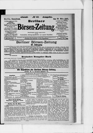 Berliner Börsen-Zeitung vom 29.03.1902
